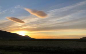 Rauðaskriða - Sunset