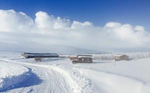 Rauðaskriða - Winter
