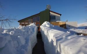Rauðaskriða - Snow tunnel